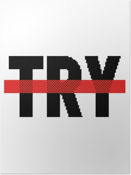 Póster Try -