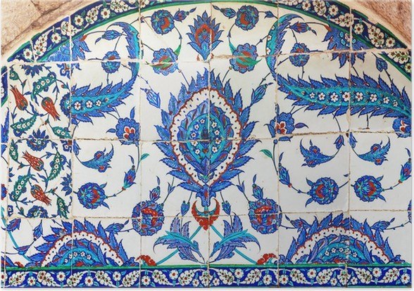 Turkish ceramic Tiles, Istanbul Poster • Pixers® • We live to change