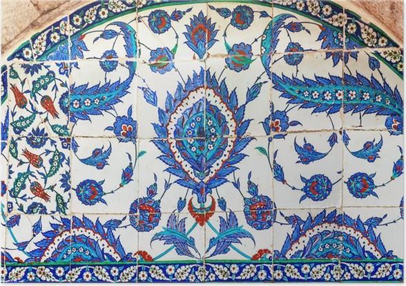 Turkish Ceramic Tiles Istanbul Poster