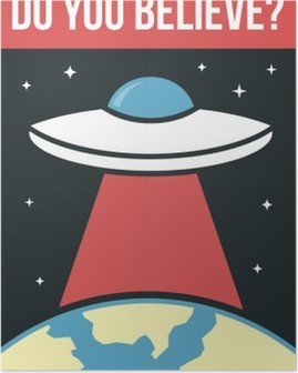 UFO poster Poster