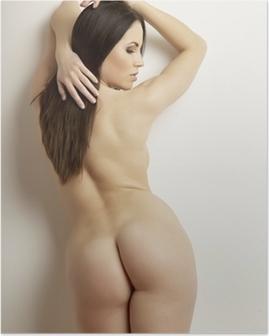 Poster Vacker vuxen sensualitet naken kvinna