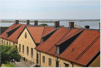 Poster Varbergs fästning, Sverige