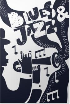 Vector Jazz poter Poster
