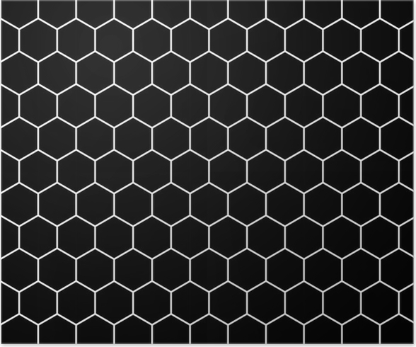 Vector Modern Seamless Geometry Pattern Hex Black And White Abstract Geometric Background Subtle Pillow Print Monochrome Retro Texture Hipster Fashion