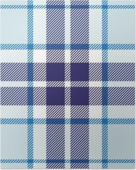 Poster Vector naadloze tartan plaid patroon