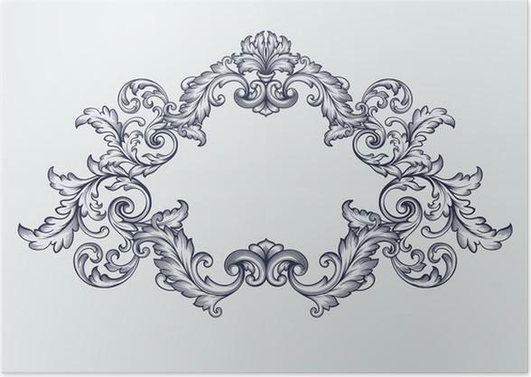 Baroque Frame - Image Décor and Frame Worldwebresource.Org