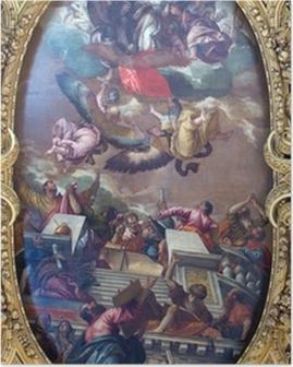 Poster Venetië - De pijn van de Immacolata en heiligen