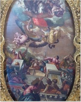 Poster Venise - La douleur de l'Immaculée et saints