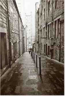 Poster Vieilles rues d'Edimbourg