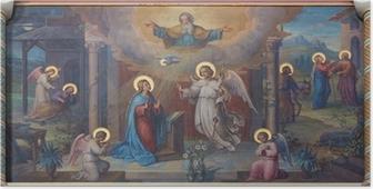 Poster Vienne - Annonciation Carmes frais église