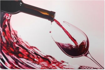 Poster Vin rouge
