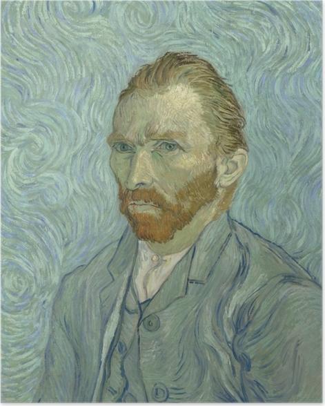Poster Vincent van Gogh - Autoportrait - Reproductions