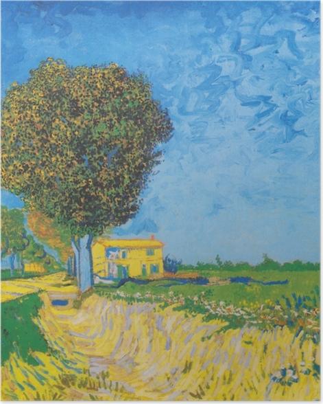 Poster Vincent van Gogh - Avenue près de Arles - Reproductions