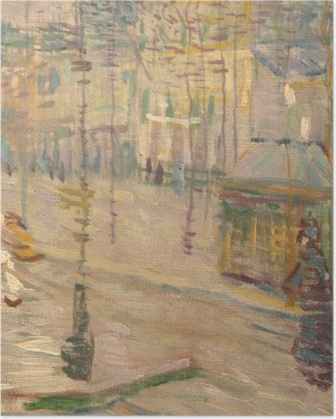 Poster Vincent van Gogh - Boulevard de Clichy - Reproductions