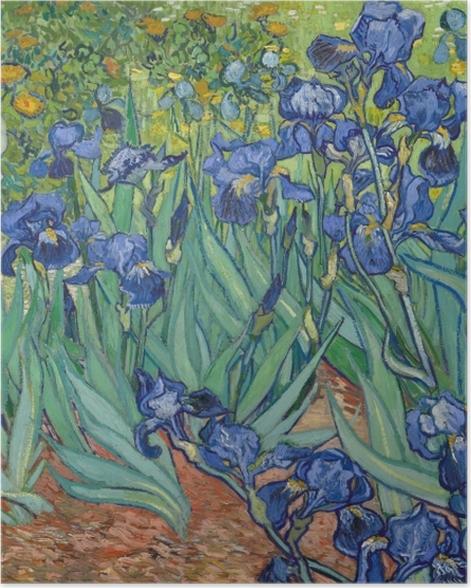 Poster Vincent van Gogh - Iris - Reproductions