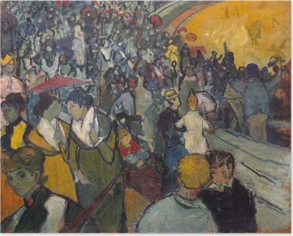 Póster Vincent van Gogh - La Arena en Arles - Reproductions