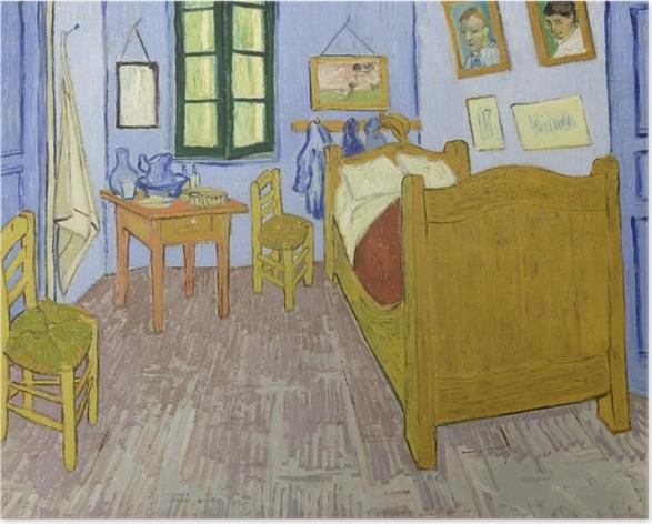 Poster Vincent van Gogh - La Chambre de Van Gogh à Arles - Reproductions