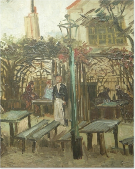 Poster Vincent van Gogh - La Guinguette - Reproductions