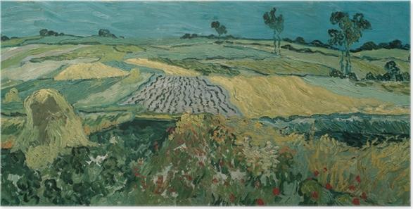 Poster Vincent van Gogh - La plaine d'Auvers - Reproductions
