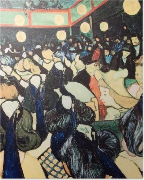 Poster Vincent van Gogh - La Salle de danse à Arles - Reproductions
