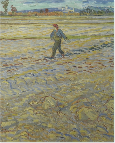 Poster Vincent van Gogh - Le Seumer - Reproductions