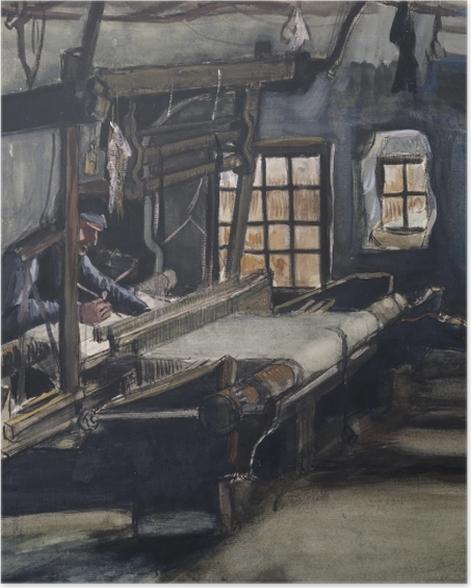 Poster Vincent van Gogh - Le Tisserand - Reproductions