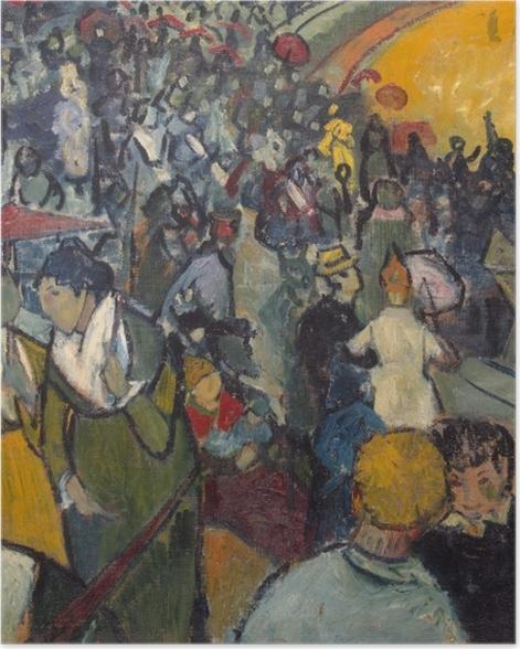 Poster Vincent van Gogh - Les Arènes d'Arles - Reproductions