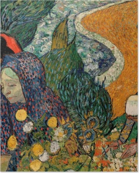Poster Vincent van Gogh - Les Femmes d'Arles (Souvenir du jardin à Etten) - Reproductions