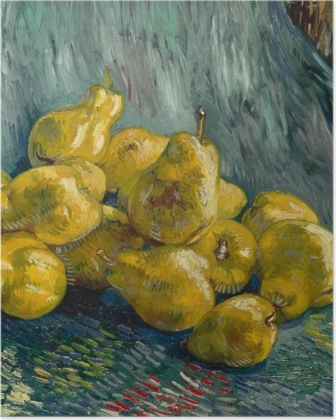 Poster Vincent van Gogh - Nature morte avec coings - Reproductions