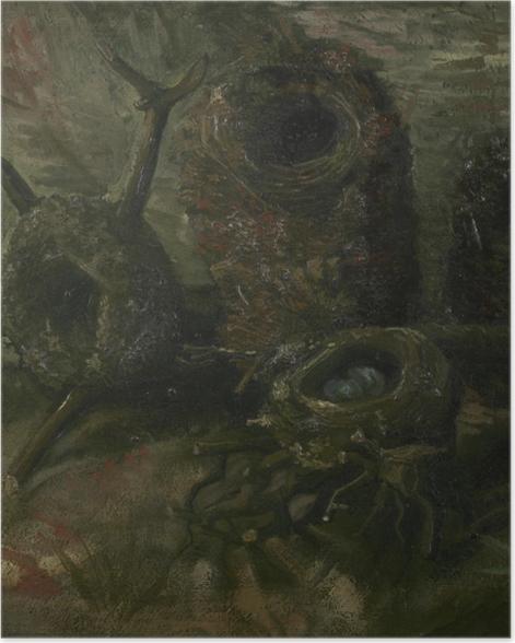 Poster Vincent van Gogh - Nids d'oiseau - Reproductions