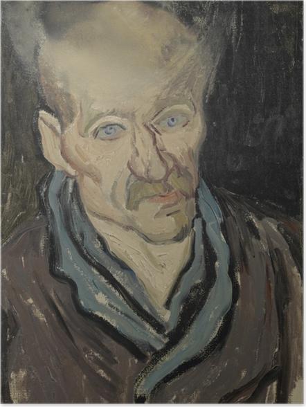 Poster Vincent van Gogh - Portrait d'un patient de l'hôpital Saint-Paul - Reproductions