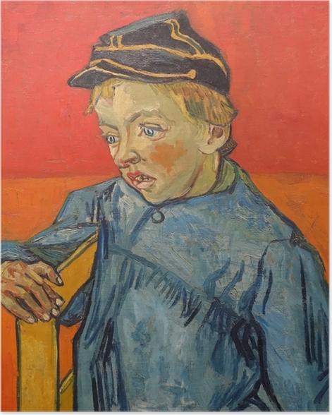 Poster Vincent van Gogh - Portrait de Camille Roulin - Reproductions