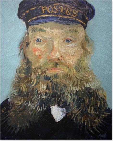 Poster Vincent van Gogh - Portrait de Joseph Roulin - Reproductions
