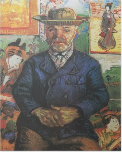 Poster Vincent van Gogh - Portrait du père Tanguy - Reproductions