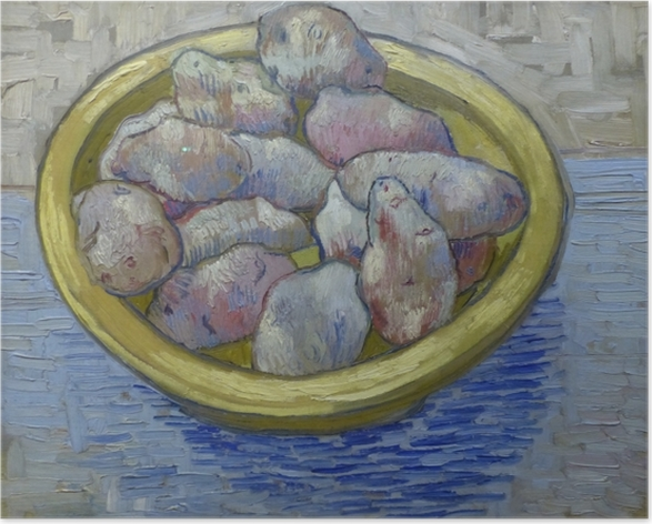 Vincent van Gogh - Potatoes in a Yellow Dish Poster - Reproductions