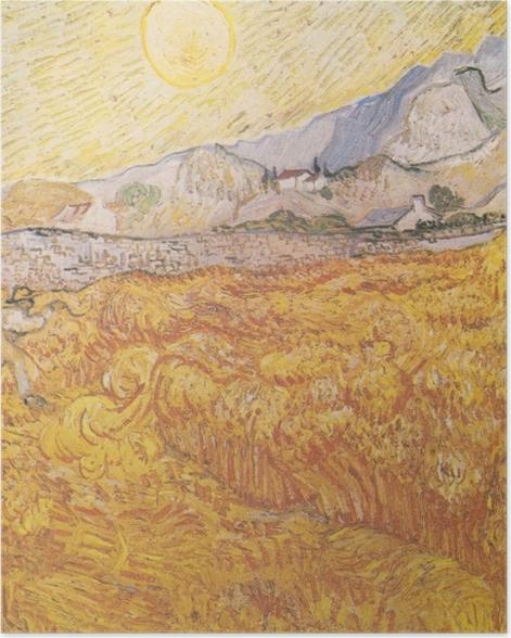 Poster Vincent van Gogh - Récolte - Reproductions