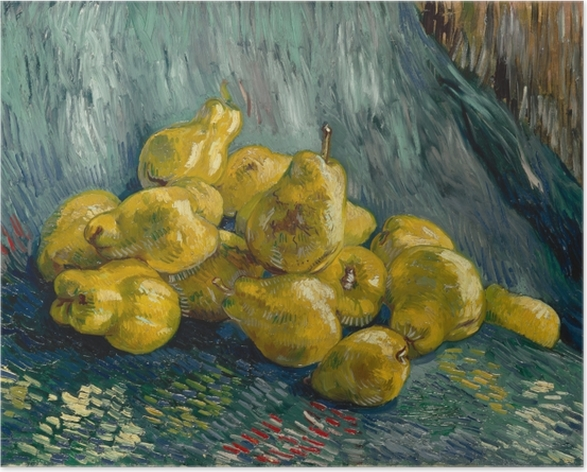 Vincent van Gogh - Still life with quinces Poster - Reproductions