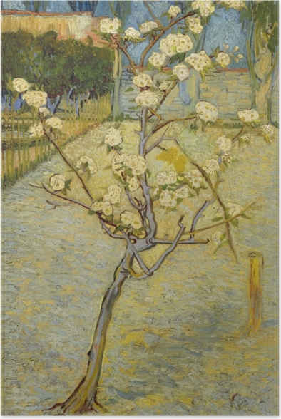 Poster Vincent van Gogh - Verger fleurissant - Reproductions