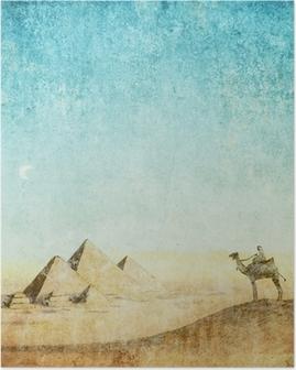 Poster Vintage background