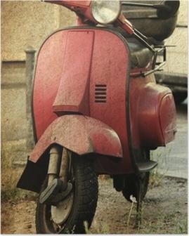 Poster Vintage scooter