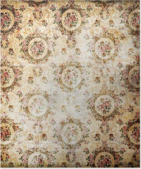 Vintage Wallpaper With Classy Patterns Poster Pixers We Live To