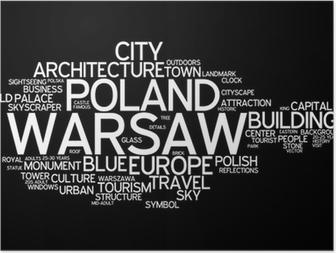 Poster Warsaw