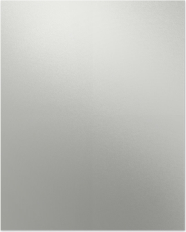 white metal texture with beam of light, smooth chrome background Poster