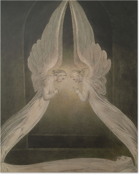 Poster William Blake - Christ dans le sépulcre - Reproductions