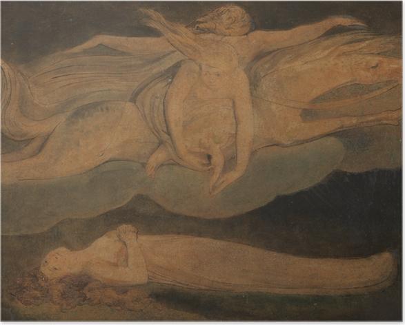 Póster William Blake - Lástima - Reproducciones