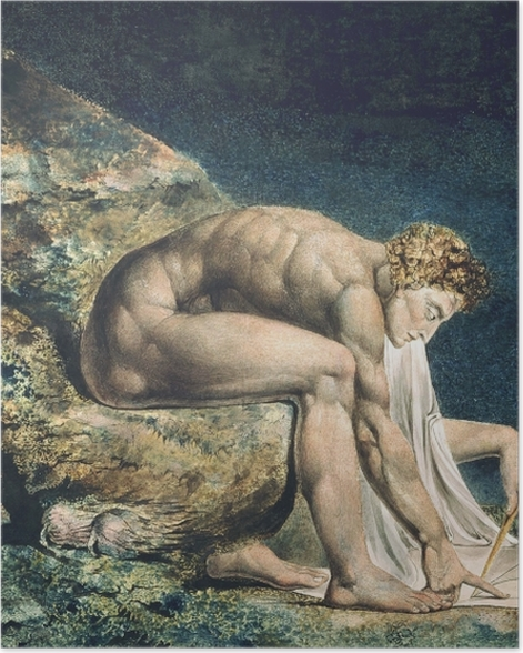 Poster William Blake - Newton - Reproductions