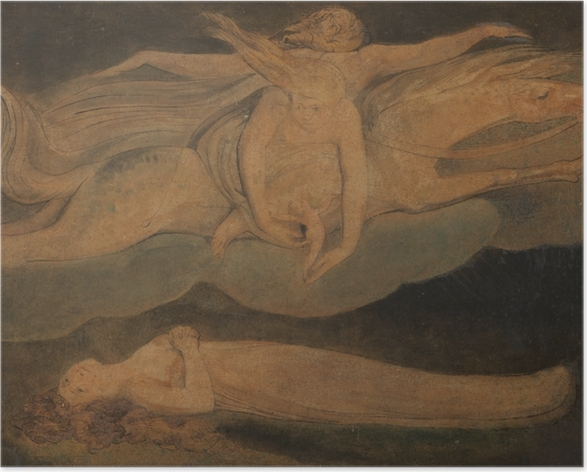 Poster William Blake - Pietà - Reproduktioner