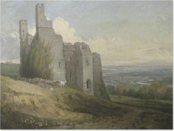 Póster William Turner - Castillo de Conway - Reproducciones