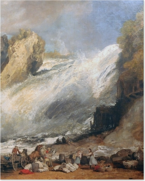 Poster William Turner - Chutes du Rhin à Schaffhouse - Reproductions