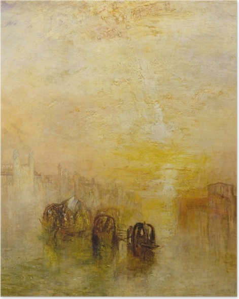 Poster William Turner - Going to the Ball (San Martino) - Reproductions